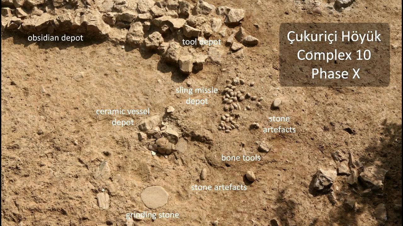 Small finds of Complex 10,  Çukuriçi Höyük