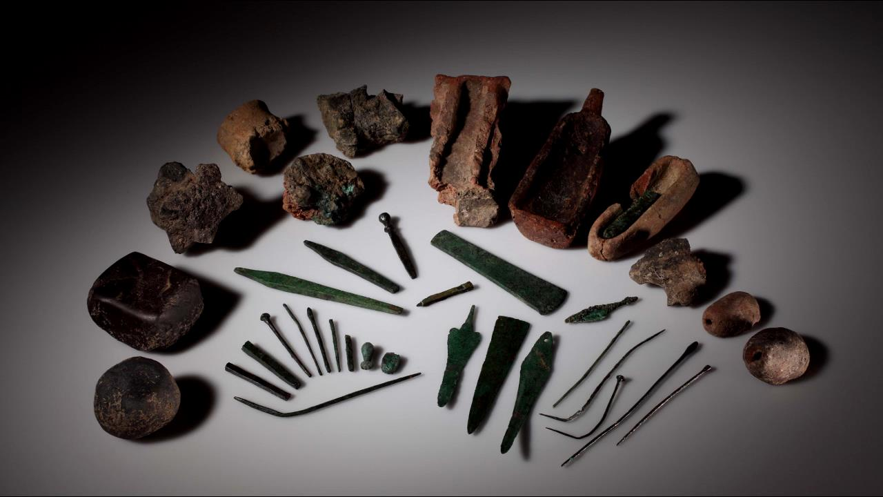 Metallurgical objects from Early Bronze Age