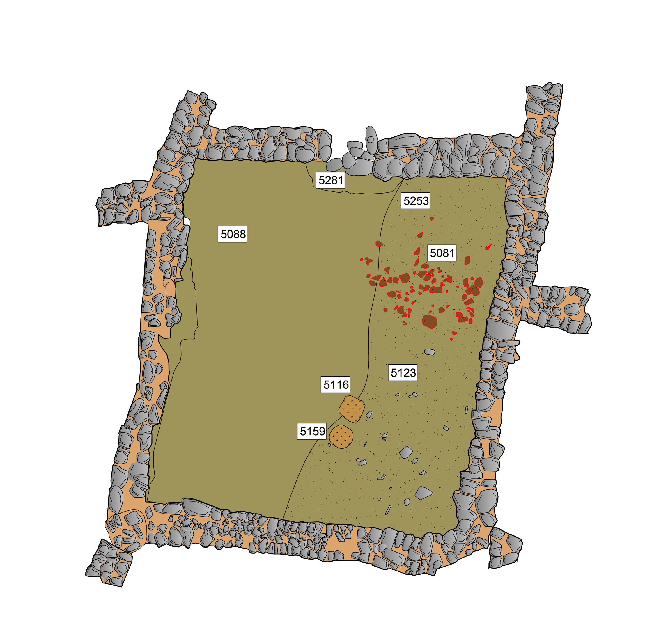 Plan of room 41